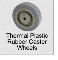 Thermal Plastic Rubber Caster Wheels