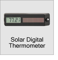 Solar Digital Thermometer