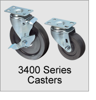 3400 Series Casters