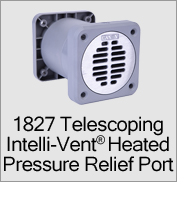 1827 Heated Pressure Relief Port Vent