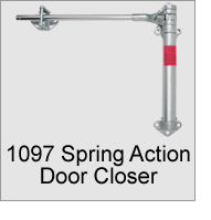 1097 Spring Action Door Closer