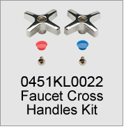 0451KL0022 Faucet Cross Handles Kit