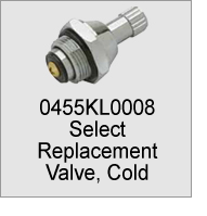0455KL0008 Faucet Replacement Valve, Cold