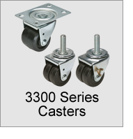 3300 Series Casters