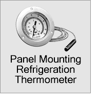 Panel Mounting Refrigeration Thermometers