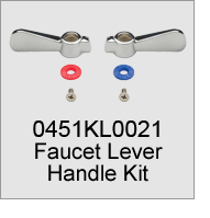 0451KL0021 Faucet Lever Handle Kit