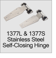 1377S Stainless Steel Self-Closing Hinge