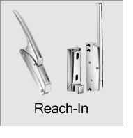 Reach-In Latches and Locks Menu
