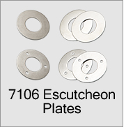 7106 Escutcheon Plates